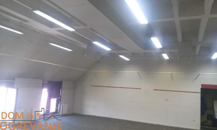 ogrevanje iz stropa