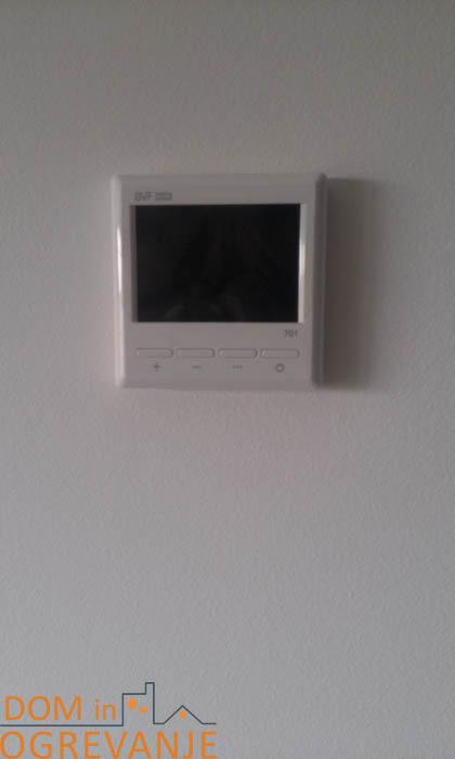 Termostat za upravljanje IR ogrevanjabvf 701