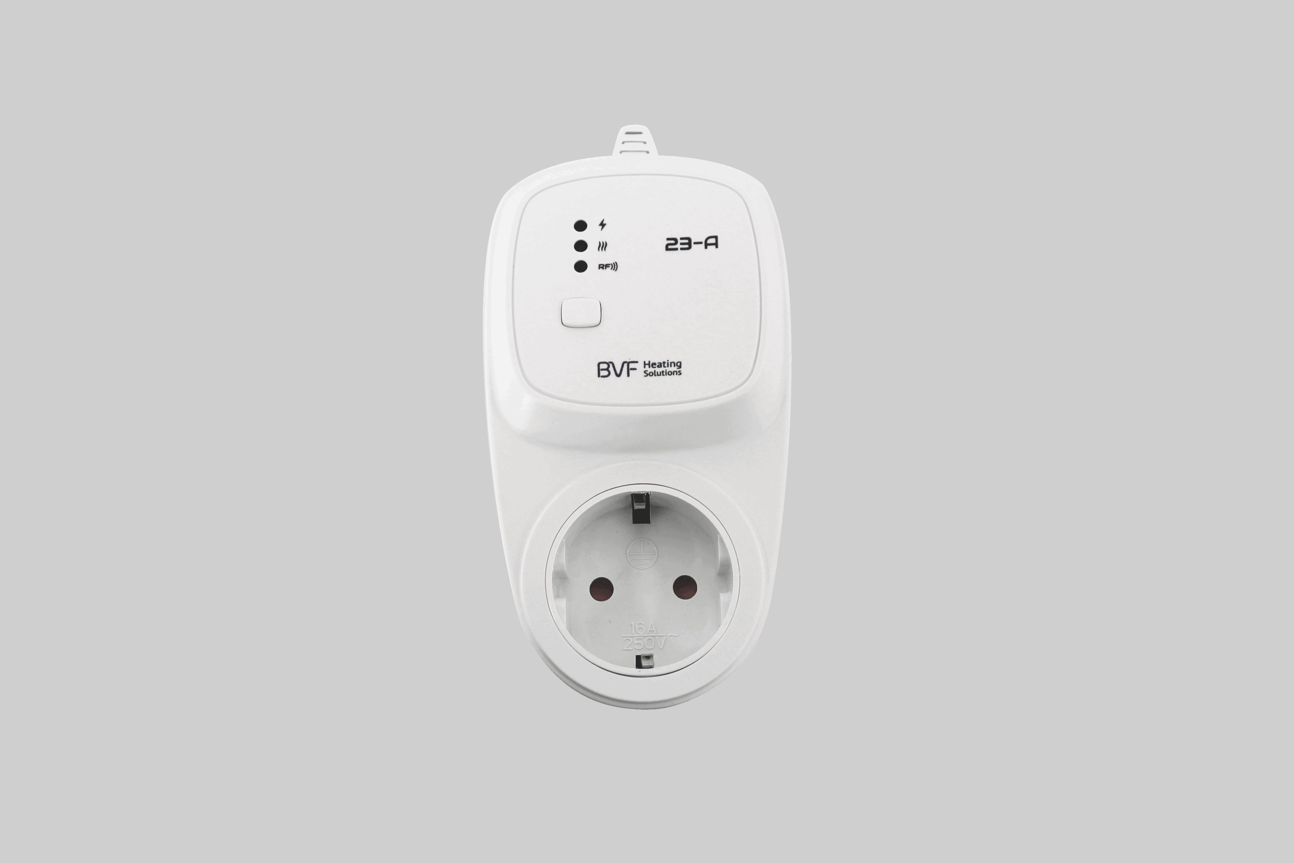 brezžični termostat za vtičnico 23 fa
