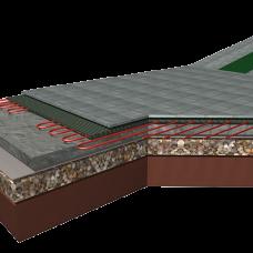 zunanje talno ogrevanje betonske plošče